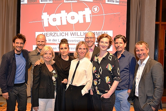 Tatort-Preview in der Landesvertretung Bremen